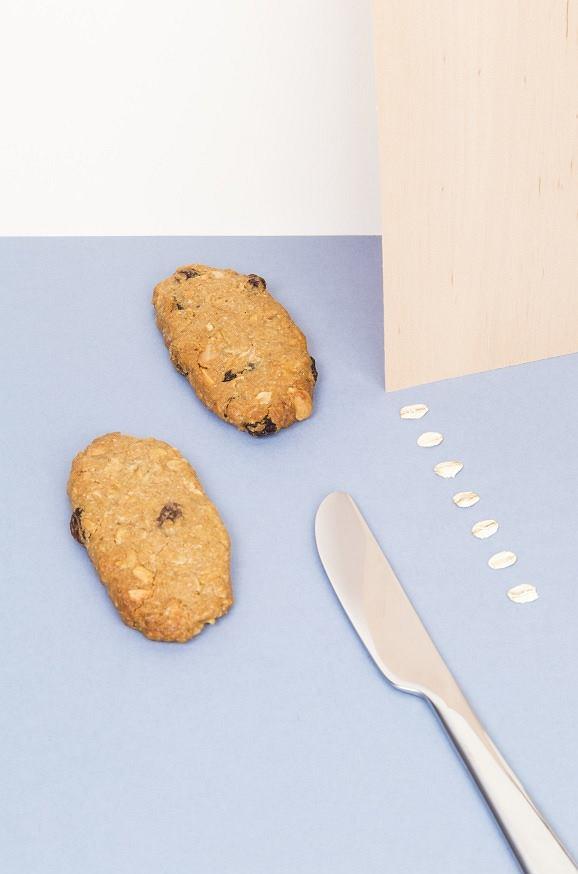 Ciasteczka owsiane są pożywne i zdrowe