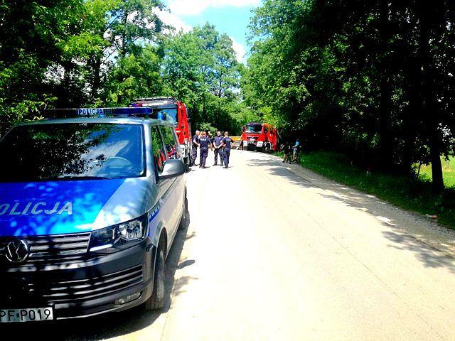 Łódzkie. Nad rzeką Rawką odnaleziono ciało 36-letniej obywatelki Ukrainy