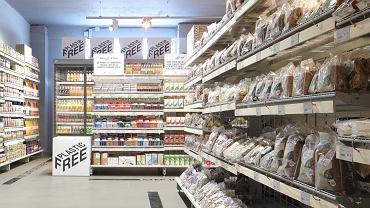 Supermarket Ekoplaza w Amsterdamie