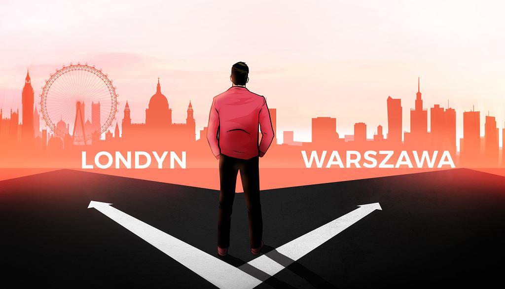 26-letni Maciej wyjechał do Londynu za pracą