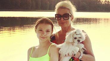 Aldona Orman z córką