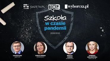 'Szkoła w czasie pandemii' - edukacyjne Wydanie Specjalne Wyborcza.pl, Radia TOK FM oraz Gazeta.pl  w poniedziałek 31 sierpnia