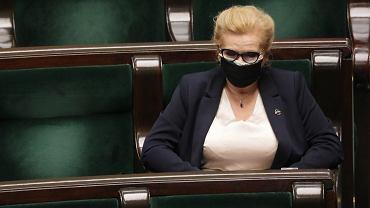 Wicemarszałek Sejmu Małgorzata Gosiewska zaraziła się koronawirusem