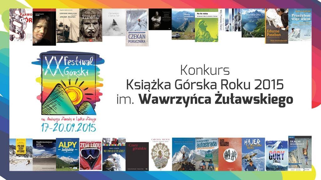Książka Górska Roku 2015 im. Wawrzyńca Żuławskiego