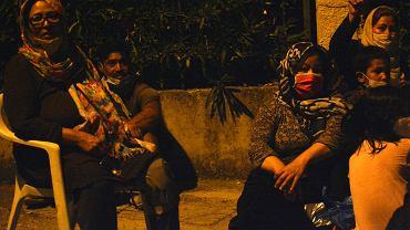 Pożar obozu dla uchodźców Moria na wyspie Lesbos