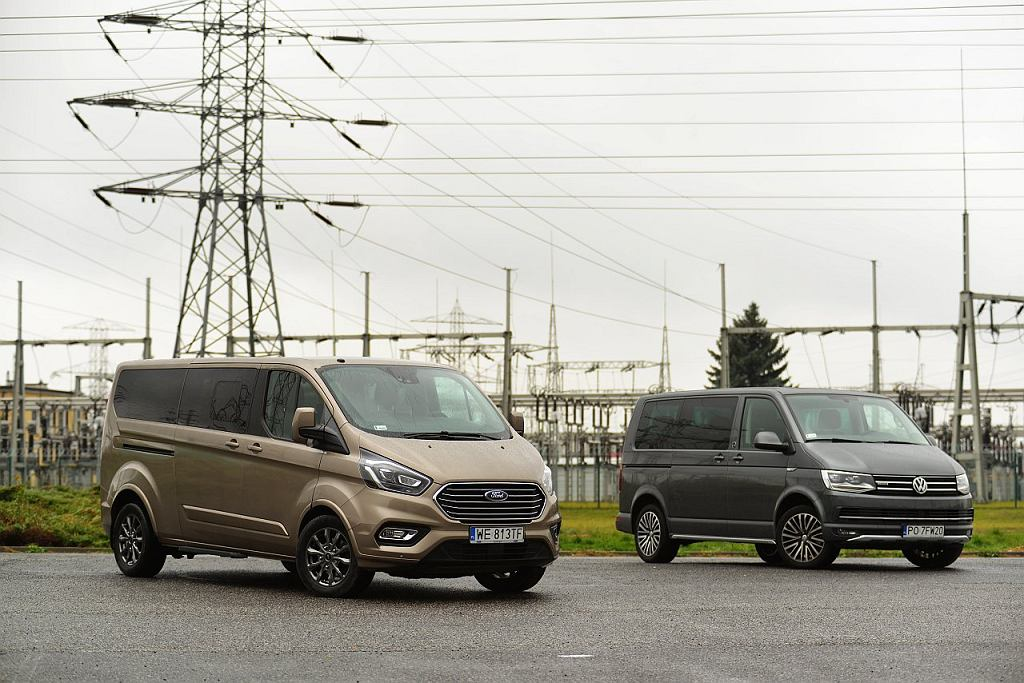 VW Multivan 2.0 BiTDi vs. Ford Tourneo Custom 2.0 TDCi
