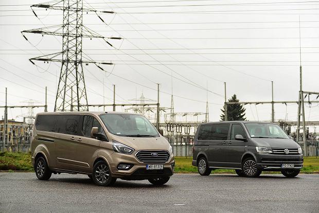 Opinie Moto.pl: VW Multivan 2.0 BiTDi vs. Ford Tourneo Custom 2.0 TDCi - Służba rodzinie