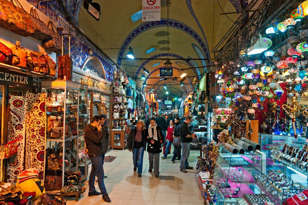 Wielki Bazar, Stambuł, Turcja / fot. Shutterstock