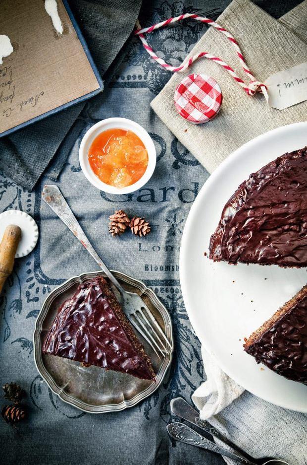 Makowy tort w stylu Sachera