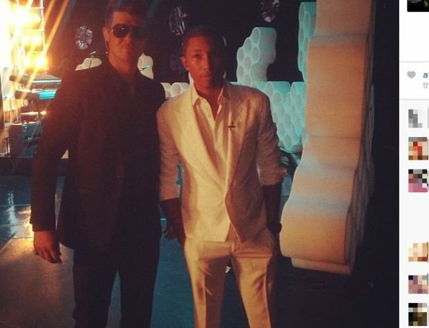 Robin Thicke i Pharrell Williams