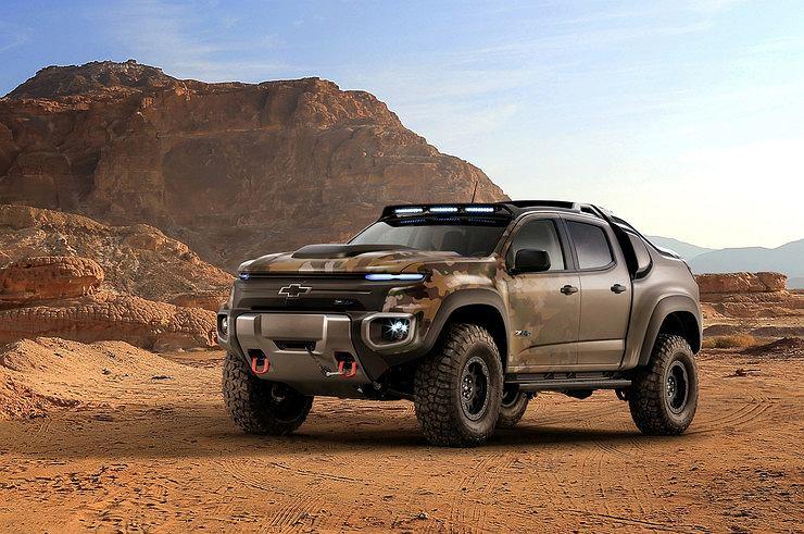 Chevroleta Colorado ZH2