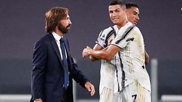 Pirlo podał powód, dlaczego nie wystawi Ronaldo, choć Portugalczyk jest już zdrowy