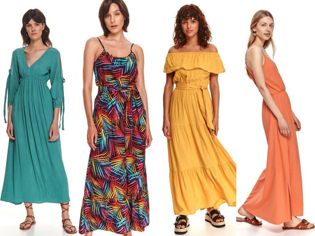Top Secret sukienki maxi wyprzedaż