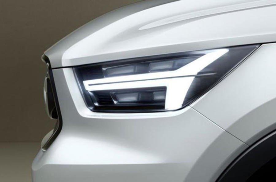 Teaser nowego Volvo