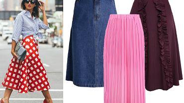 Spódnice modelujące sylwetkę - midi / fot. fashiondra.blogspot.sn / mat. partnera