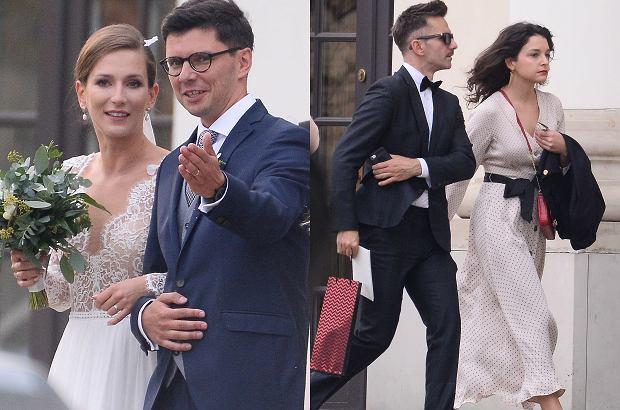 Anna Bosak wyszła za mąż! Suknia klasyczna i piękna. Na ceremonii nie zabrakło Marcina Bosaka z narzeczoną [ZDJĘCIA]