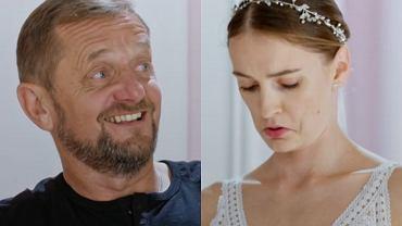 Ojcu nie podobał się dekolt w sukni ślubnej córki. I choć panna młoda wyglądała zjawiskowo, to oniemiał dopiero, gdy zobaczył... swoją żonę