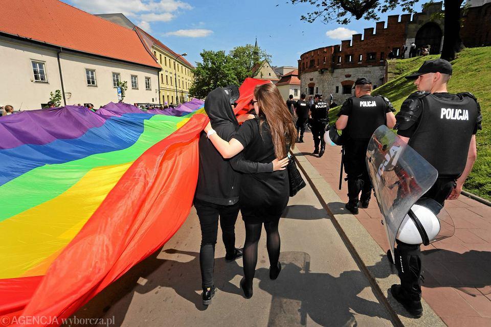 Marsz Równości w Krakowie, 2015 rok