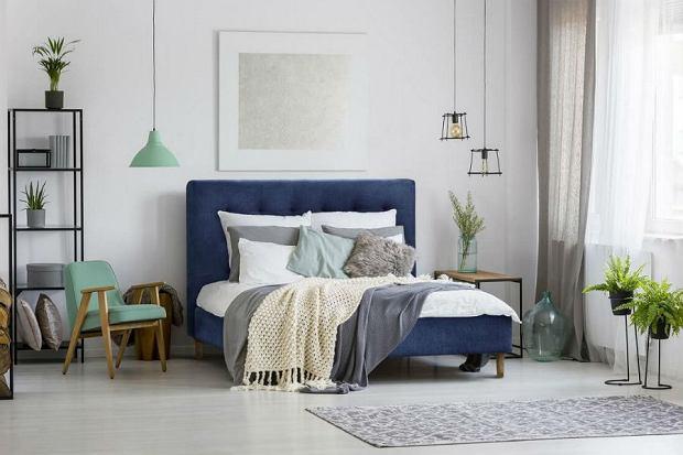 łóżko Tapicerowane Wnętrzaaranżacje Wnętrz Inspiracje