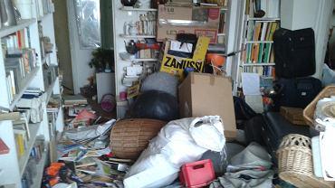 Śmieci w mieszkaniu
