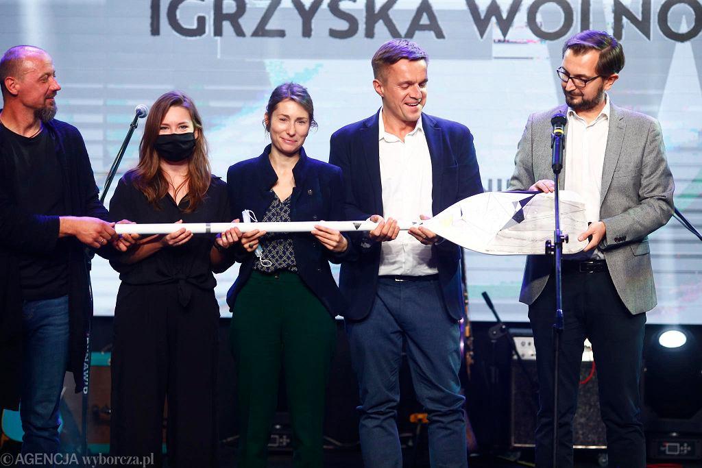 Wiosła Kultury 2019, nagroda łódzkiej 'Gazety Wyborczej' i Monopolis. Za najlepsze wydarzenie uznano Igrzyska Wolności.