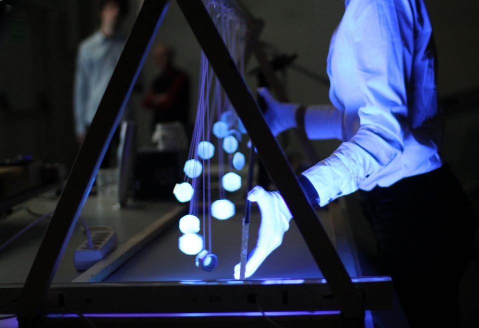 Pokazy w czasie finału konkursu 'Fizyczne ścieżki' w 2012 roku