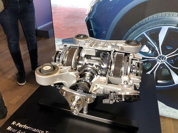 Volkswagen Tiguan R Torque Splitter