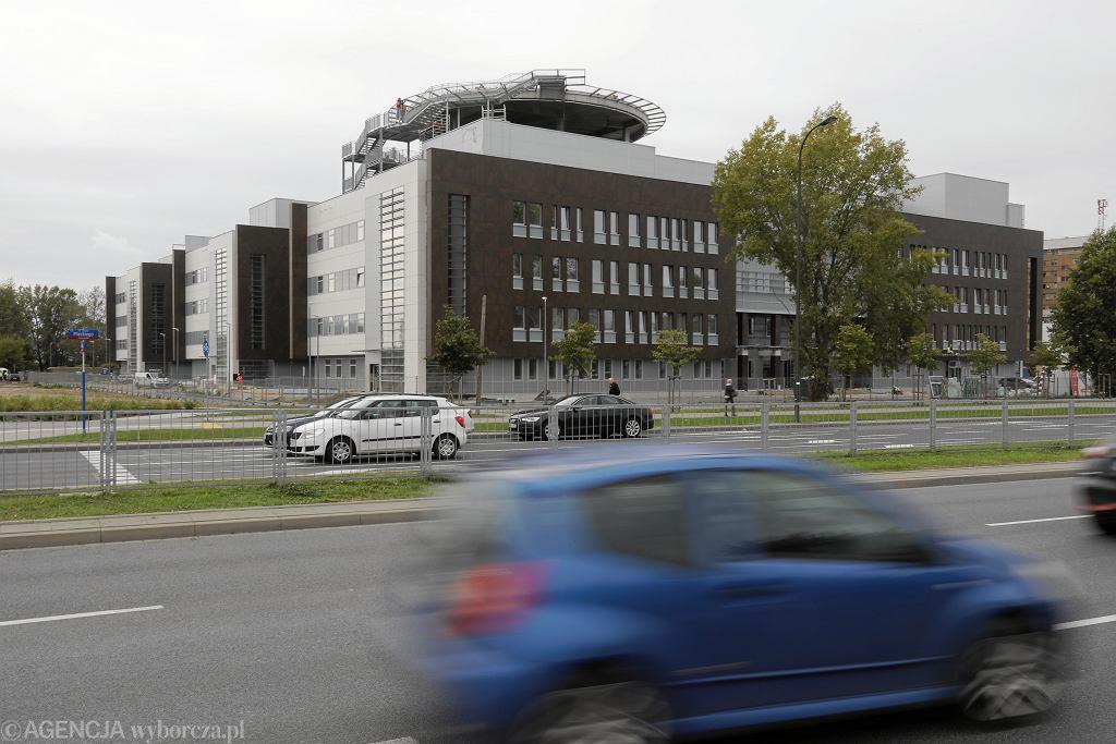 Szpital Południowy przed oddaniem do użytku (zdjęcie z października 2019)