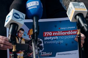 Miliony dla TVP i Polsatu za promocję Funduszu Odbudowy, z którego nie mamy jeszcze złotówki