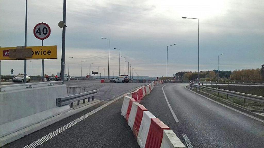 GDDKiA prowadzi prace związane z wiaduktem na autostradzie A1