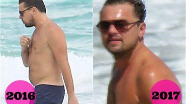 Leonardo DiCaprio w 2016 roku i dziś