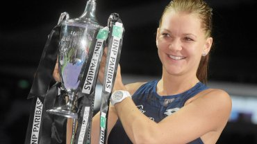 Agnieszka Radwańska wygrała w 2015 roku WTA Finals. To jej największy sukces w karierze.