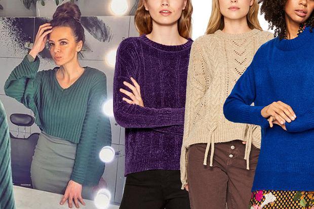 Swetry damskie z wyprzedaży / mat. partnera / www.instagram.com/aniawendzikowska/