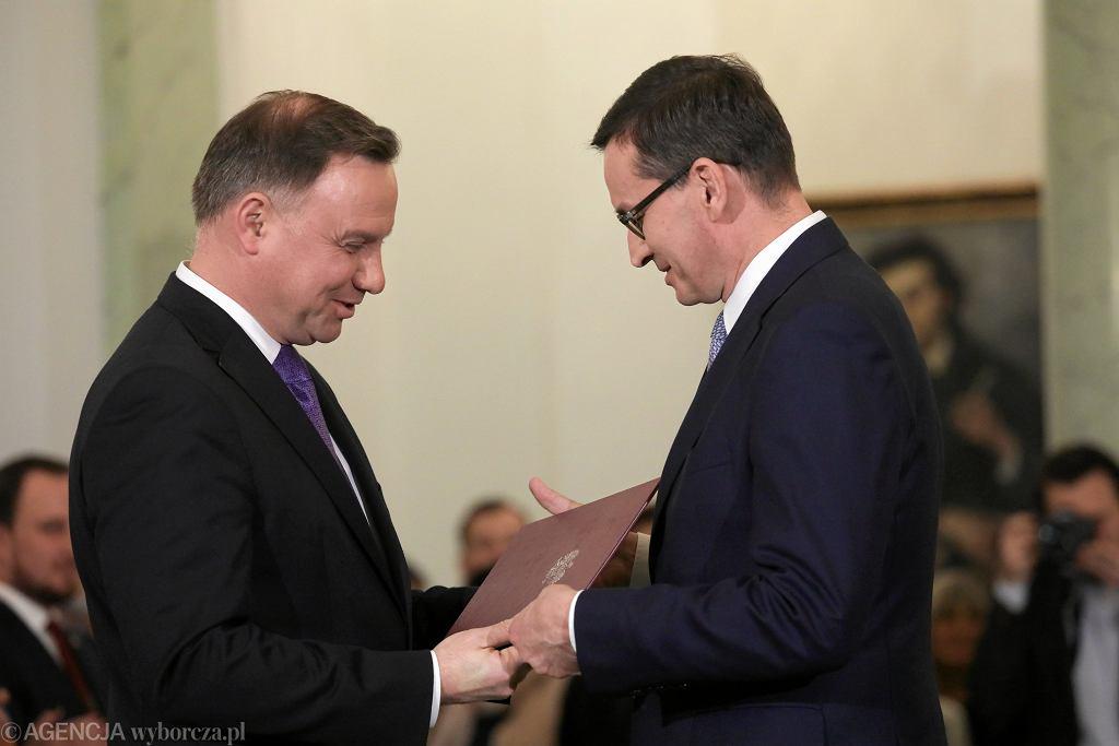 Zaprzysiężenie Rządu Premiera Mateusza Morawieckiego.