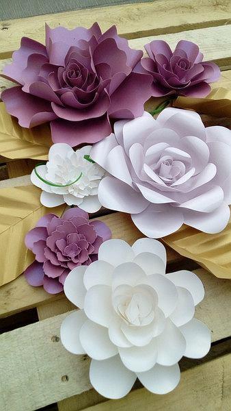 Kwiaty Z Papieru Dekoracja Na Co Dzien I Od Swieta