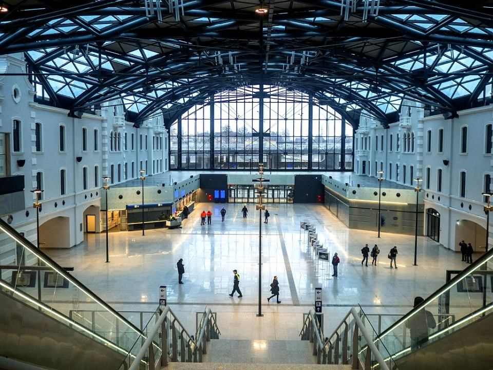 Hala dworca Łódź Fabryczna