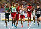 Moskwa 2013. Lewandowski czwarty na 800 metrów. Aman ze złotem