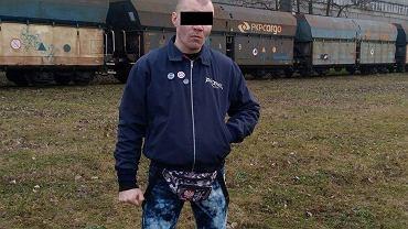 Neonazista Adam P., który brutalnie pobił uczestniczki Marszu Równości we Wrocławiu