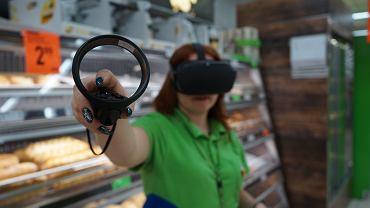 Gogle VR w Biedronce