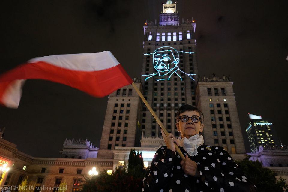 Akcja 'Uwolnić Andrzeja Poczobuta' pod PKiN