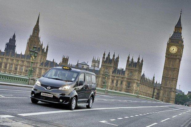 Nissan NV200 - propozycja londyńskiej taksówki
