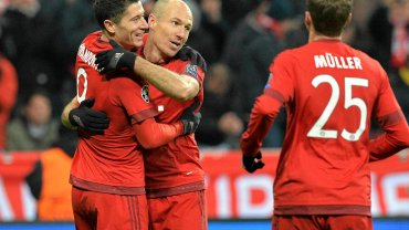 Robert Lewandowski i Arjen Robben