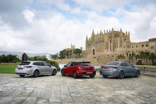 Toyota Corolla w trzech wersjach nadwoziowych