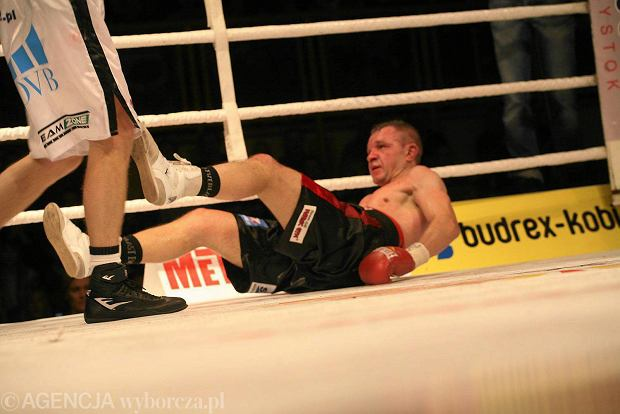 Dariusz Snarski porażką kończy bokserską karierę [ZDJĘCIA, WIDEO]
