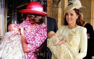 Księżna Kate, książę George, księżna Diana, książę William