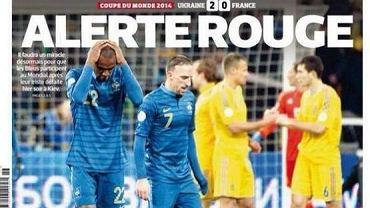 Okładka dziennika 'L'Equipe'