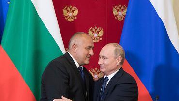 Władimir Putin i Bojko Borysow