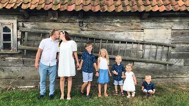 Beata i jej mąż mają pięcioro dzieci
