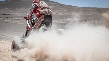 Rafał Sonik na V etapie Rajdu Dakar