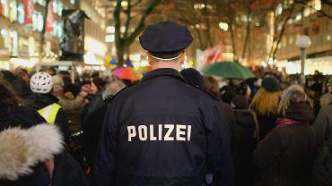 Policja w Niemczech (zdjęcie ilustracyjne)